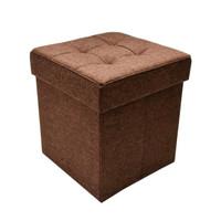 Bangku Ottoman Lipat/Kotak Penyimpanan, Kursi, Sofa Box Krishome 38x38