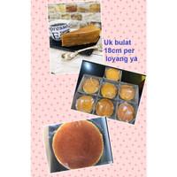 Kue Lapis Legit uk bulat 18cm - Cake non wisman loyang bundar 18 cm