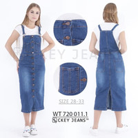 Rok Jeans JUMBO Kodok Overall Jumpsuit. CW 312 WT 003/004 - Biru tua, 30