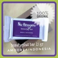 [ASLI DAN TERMURAH]Sabun Nu Amoorea beauty plus bar /stemcel15 gr