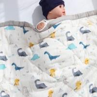 Parishkids MUSLIN BAMBOO Baby BLANKET/ SELIMUT BAYI