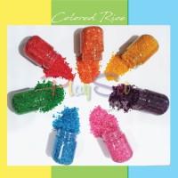 colored rice beras warna warni mainan anak sensory montessori playset