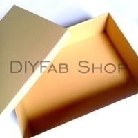 Gift Box Kotak Kado Besar 30 x 25 cm tinggi 12 hitam box
