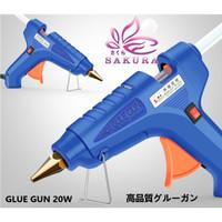 Alat Lem Tembak Glue Gun 20W Lem Bakar Cair/Lem Lilin