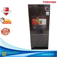 Kulkas 1 Pintu Toshiba GR-RD235CC Kapasitas Besar 190 L Tinggi 128 CM