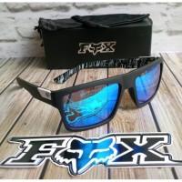 Kacamata Hitam Pria Polarized Sport Outdor UV400 Fox abuabu