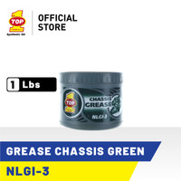 TOP 1 GREASE CHASSIS (GREEN) | 1 Lbs - Gemuk