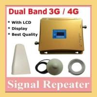 PENGUAT SINYAL HP/REPEATER/BOSTER/ANTENA GSM 2100 3G & 1800 4G LTE DCS