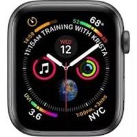 Apple Watch 4 GPS 44mm Aluminium Case Space Grey Ori Kelapa Jam Saja