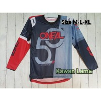 Baju Kaos Jersey ONEAL Mancing Dh Cross Sepeda Gowes 001