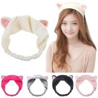 CEHB bando telinga kucing kuping headband korea facial bandana cat ear