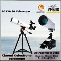Celestron Telescope Astronomical - SCTW - 80 - Teropong Bintang