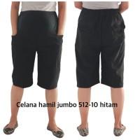 celana hamil jumbo 512-100 hitam bajuhamil baju hamil