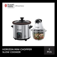Bundling Russell Hobbs Home Slow Cooker - Horizon Mini Chopper