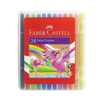 Twist Crayons 24 Color Faber Castell/Crayon Putar