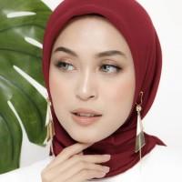 aksesoris hijab peniti bohlam anting hijab Vira plat juntai