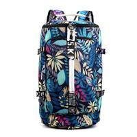 COD - tas gym multifungsi bisa ransel jinjing travelling backpack - Biru