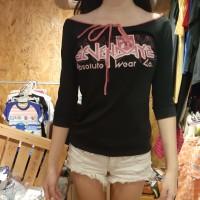 Baju Kaos Model Sabrina Fashion Cewek Remaja Wanita Dewasa