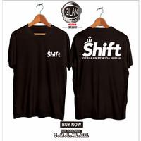 Kaos Baju Shift Gerakan Pemuda Hijrah Islam Dakwah Islami - Gilan - Hitam, S