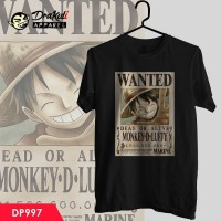 T Shirt DP997 - Luffy Wanted Poster