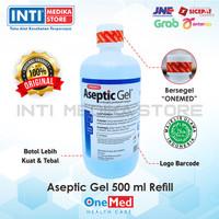 ONEMED - Aseptic Gel 500ml Refill / Antiseptik Gel / Hand Sanitizer