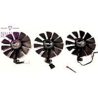 kipas VGA Fan pengganti untuk Gpu Asus Strix 1060 1070 Ti 1080 Ti dll