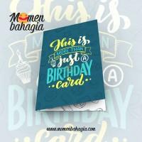 Kartu Ucapan Ulang Tahun Murah - Birthday Greeting Card + Amplop 008