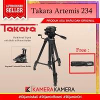 Takara Artemis 234 Built In Phone Holder Tripod