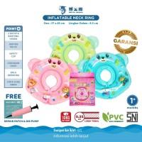 DOCTOR DOLPHIN Baby Neck Ring / Ban Renang Bayi / Ban Spa Bayi