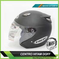 SALE !!! Helm Motor Centro DAG Model INK Hitam Doff Exc. KYT BOGO NHK