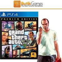 GTA 5 GTA V Grand Theft Auto V Premium Online Edition PS4