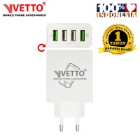VETTO MOBILE Charger V801-4M USB - 4 Port USB