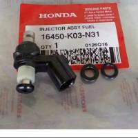 AHM 16450K03N31 INJEKTOR ASY BEAT-ESP / SUPRA 125 FI ORIGINAL HONDA AH