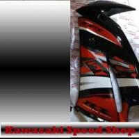 Fairing Atas Ninja RR New Orange Special Edition Sebelah Sisi Original