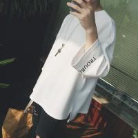 SATU Pria Musim Panas pria Lengan Pendek T-Shirt Korea Warna Solid