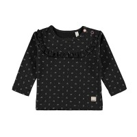 Mothercare Bampidano Baby Girls T-Shirt Allover Print + Volants