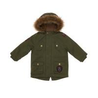 Mothercare Khaki Badge Parka Jacket (3-12 mo)