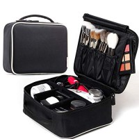 ROWNYEON Makeup Train Case Makeup Travel Bag Mini Cosmetic Bag Organiz