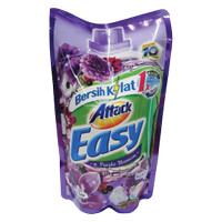 1 KARTON ATTACK DETERGENT CAIR EASY PURPLE BLOSSOM 800mL (ISI 12)