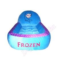 Matras / Kasur bayi karakter boneka Frozen motif polkadot