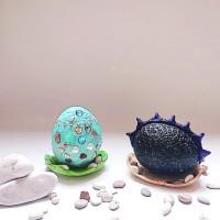 Kidzart Fantasy/ Dragon/ Mermaid/ Dinosaur Egg Artbox DIY Craft