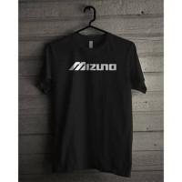 T-Shirt voli volly - kaos baju pendek- oblong - hitam - pria wanita - Hitam
