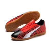 Sepatu Futsal PUMA ONE 5.4 IT Orange - Blk 105654 03