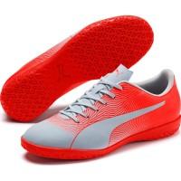 Sepatu Futsal PUMA Spirit II IT Glacial Blue-Nrgy Red 105524 05