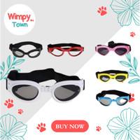 Kacamata anjing kucing hewan aksesoris anjing kaca mata anjing kucing