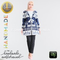 Outer Batik Wanita | Coat Muslim | Outfit Tenun Troso