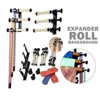 Expander Roll Background - 3 roll dan 4 roll