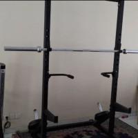 alat fitnes power squat stand rack like magnus tanpa bangku