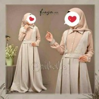 Oribelle Kids FREYA Size 6 Gamis Over All Baju Muslim Anak