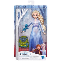 DISNEY FROZEN 2 Elsa Fashion 12-Inch Doll In Travel Outfit with Pabbie
